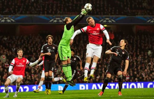 CORRECTION-FBL-EUR-C1-ARSENAL-BAYERN MUNICH